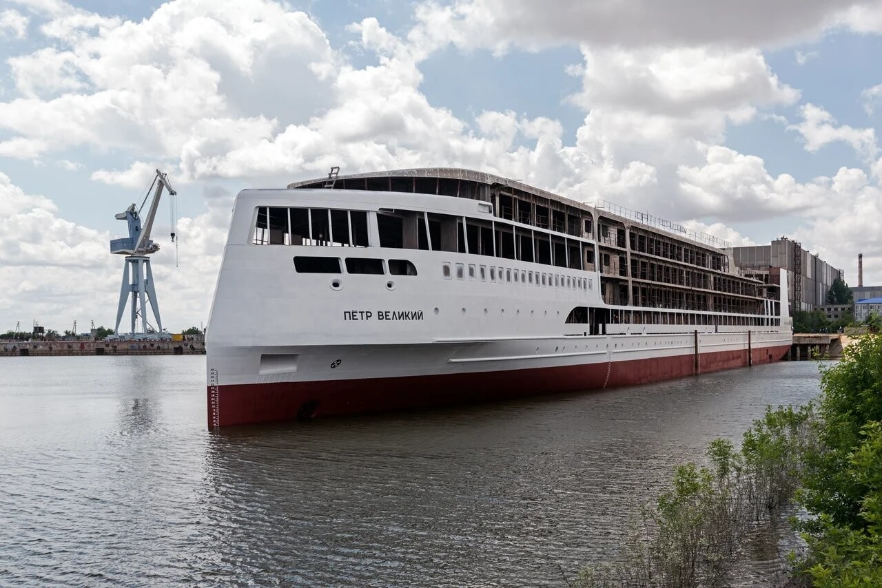 Новый российский речной лайнер